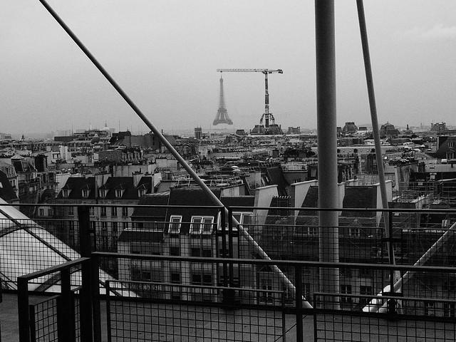 Enl vement de la tour eiffel je n 39 y croyais pas moi m me q flickr - Enlevement encombrants paris ...