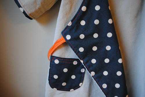 the dotty wrap dress