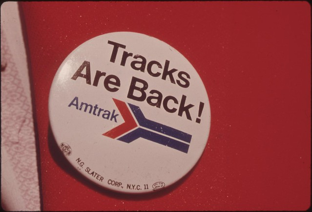 DOCUMERICA - Charles O'Rear - Amtrak
