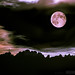 Full Moon and Kampenwand - Not a classic Montage by alpenbild.de