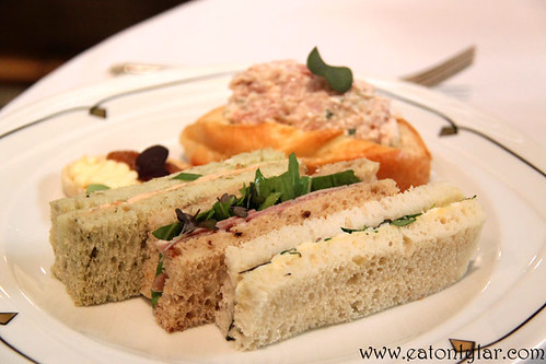 Sandwiches and Savouries, The Palm Court