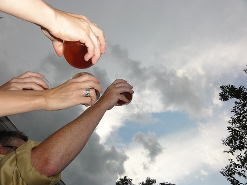 Toasting the Cruel Cloudy Skies