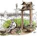 fisherboy statue