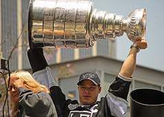 Dustin Brown and the Stanley Cup!