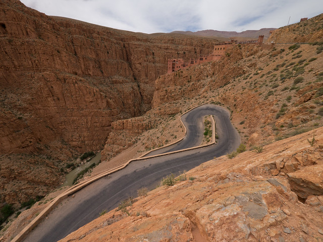 Gorge Dades, Morocco with Panasonic GX1 and Lumix 7-14mm lens