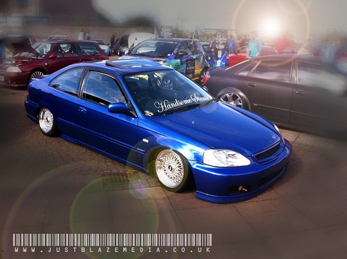 Showerks Bangor 2012 Stanced Civic Coupe by justblazemedia