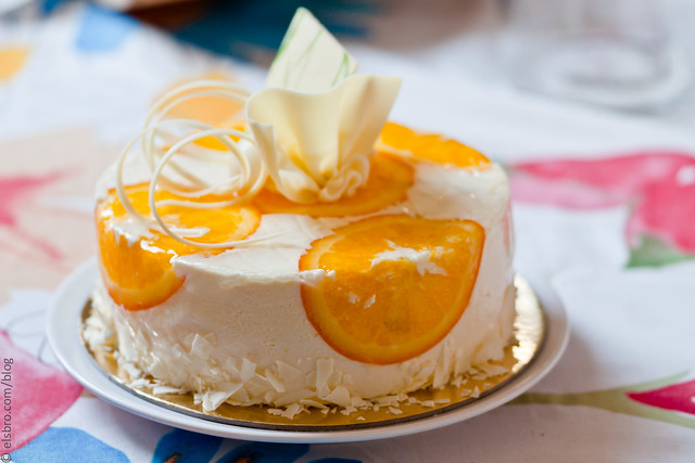 Orange and Camomile Chilled Cheesecake
