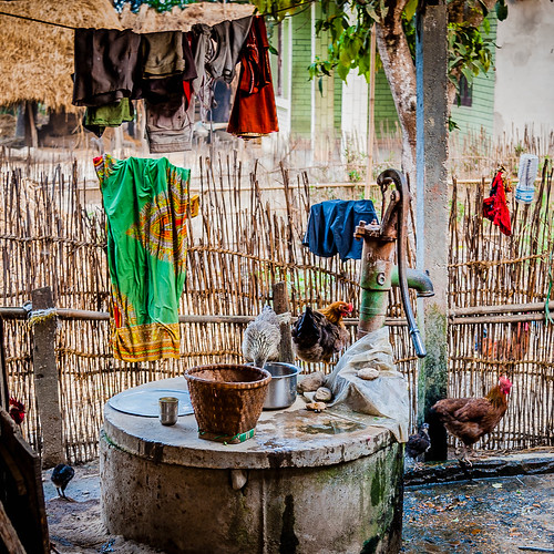 Ralf Kayser's photo of a Nepal kitchen