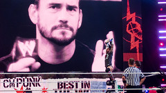 CM Punk at Raw, Miami, 2 April 2012
