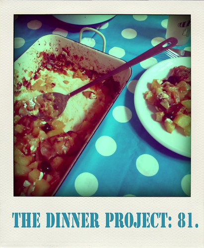 the dinner project: kw 20.
