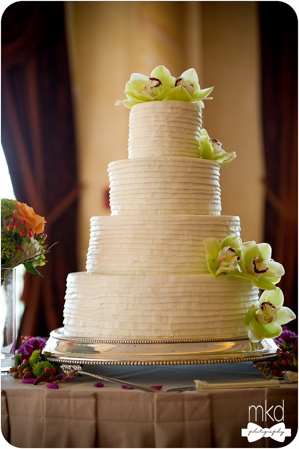 Wedding Cake at the Devens Common Center - Devens, MA