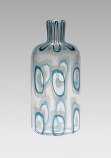 Ercole Barovier, Dorico Acquamare bottle, 1960
