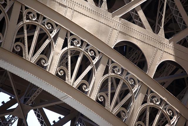 Eiffel Tower: detail