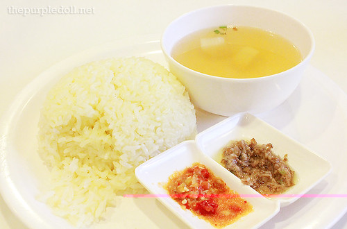 Hainanese Chicken Rice P128