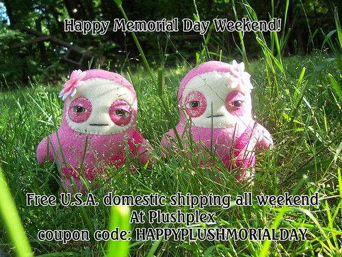 Happy Memorial Day Weekend! by plushplex