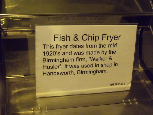 Museum Collections Centre - 25 Dollman Street - warehouse - Fish & Chip Fryer - sign