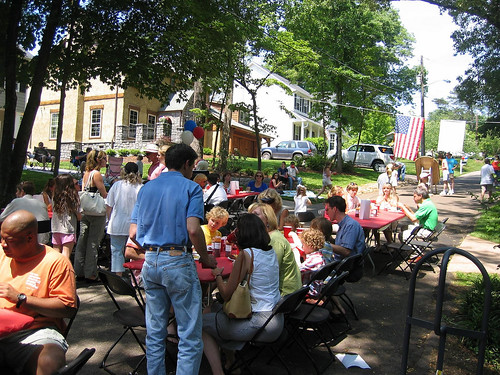block party, unknown location (by: Mike Lipscomb, creative commons license)