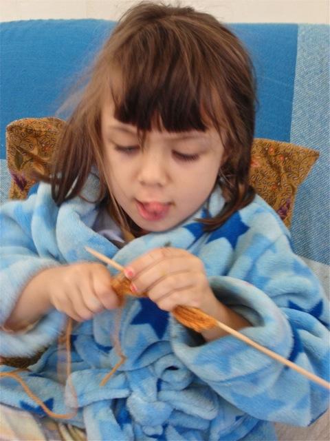 Ana Maria's knitting