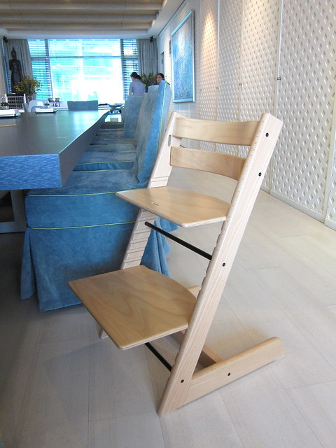 Building a Stokke chair for Christian