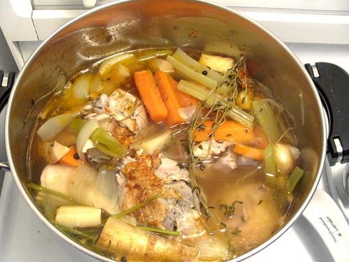 Mom's Secret Ingredient for Best Chicken Broth
