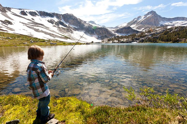 Gabe fishing high sierra flickr photo sharing for Sierra fish in english
