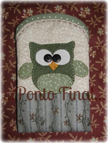 ...Capinha para Iphone, Ipod...etc... by Ponto Final - Patchwork