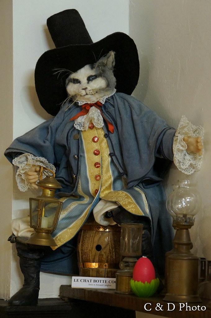 personnages figurines le chat botte