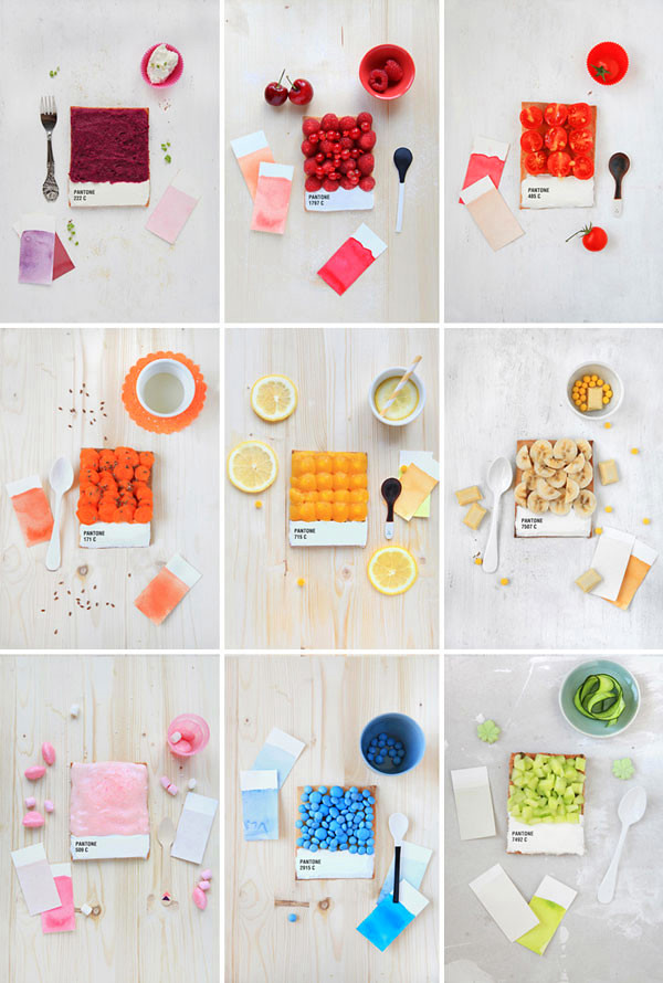 Oh So Sweet Pantone Tarts!