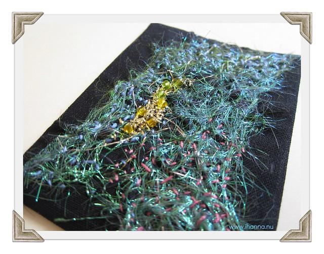 The creation - ATC with angelina fibers