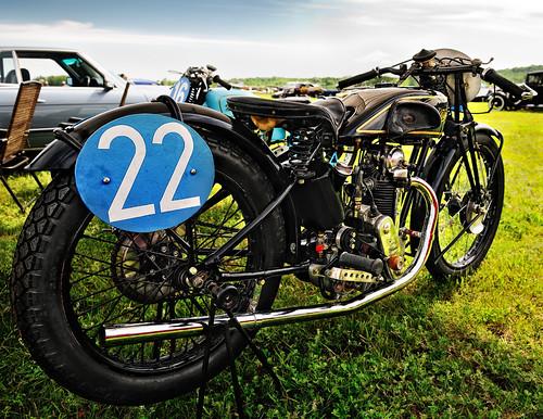 Vintage Velocette Motorcycle