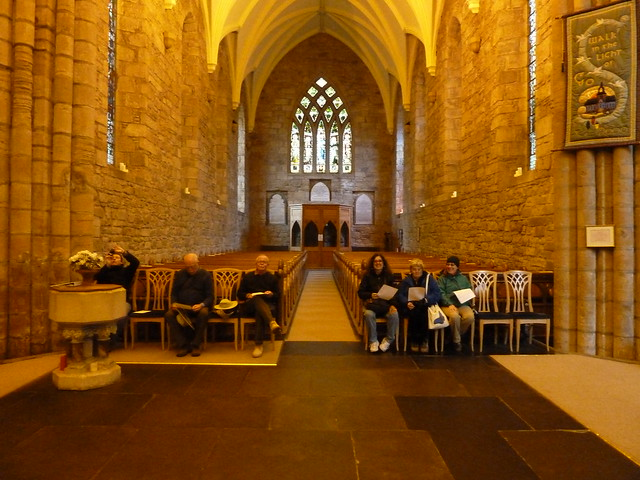 Inside Dornoch Cathedral, Scotland