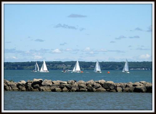 sky ny rochester sailboats lakeontario