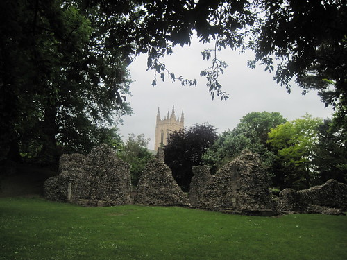 Abbey in Bury-St Edmunds