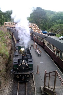Down Train on the Ffestiniog Railway