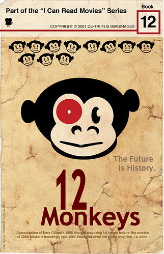 """I Can Read Movies: 12 Monkeys"" by aforgrave, on Flickr"