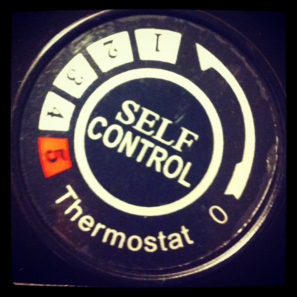 Self control (now available in thermostat format) #selfcontrol #controls from Flickr via Wylio
