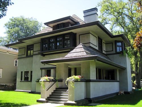 Prairie School Historical Architectural Style