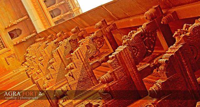 Header of Agra Fort