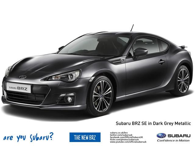 Subaru BRZ in Dark Grey Metallic   Flickr - Photo Sharing!