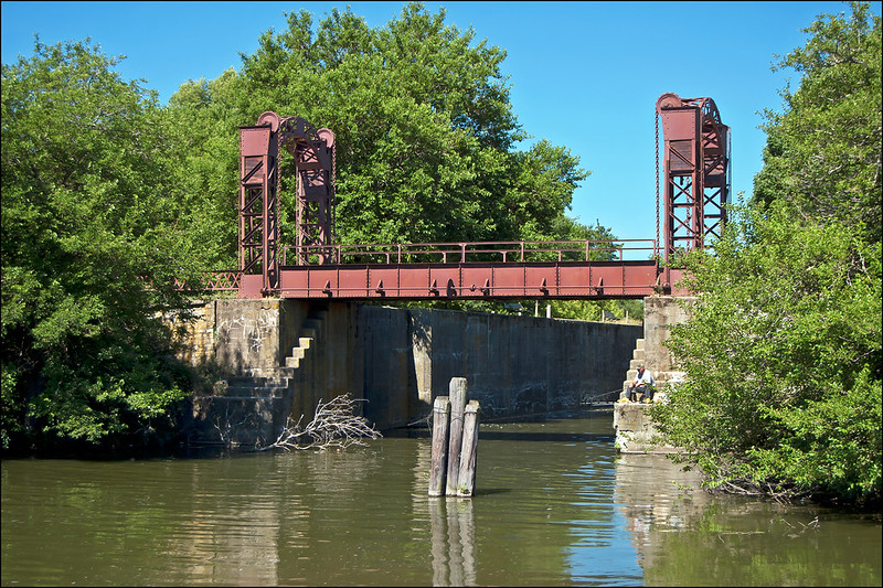 Lift Bridge, Lock 21, Hennepin Canal