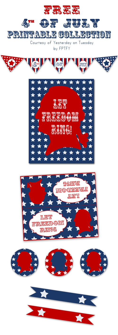 Free 4th of July Printable Collection from YOT by FPTFY