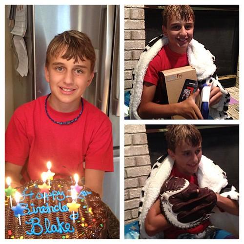 Happy 12th Birthday Blake!