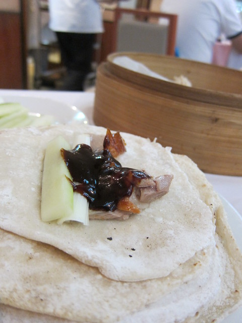 Peking Duck at Spring Deer Restaurant