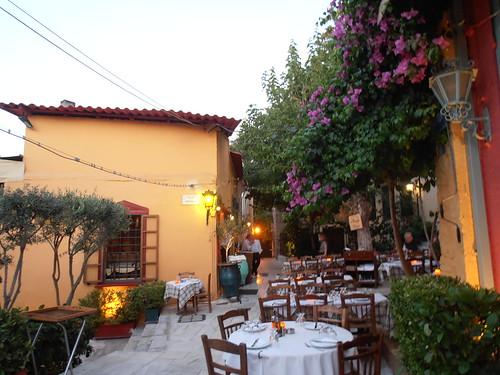 Taverna in Plaka