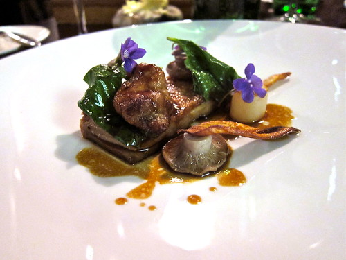 Course 8: Herdwick Lamb Flank, Sweetbread, Salsify, Hedge Garlic & Blewitts (3)