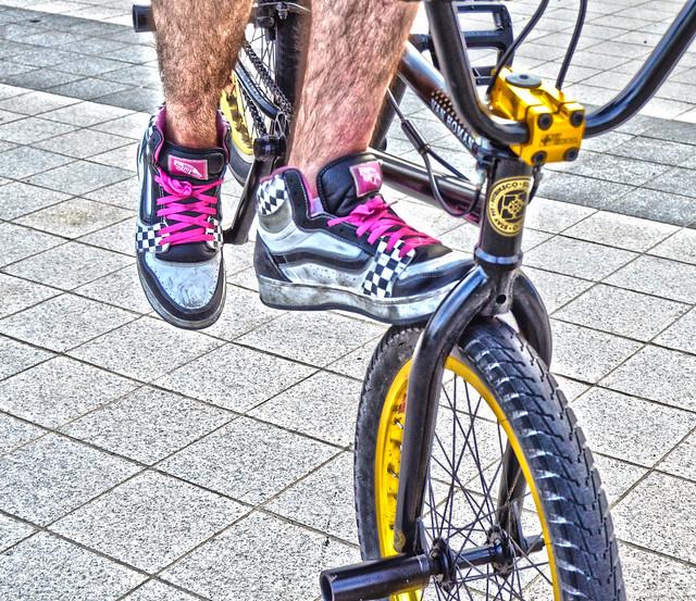 BMX Shoe HDR