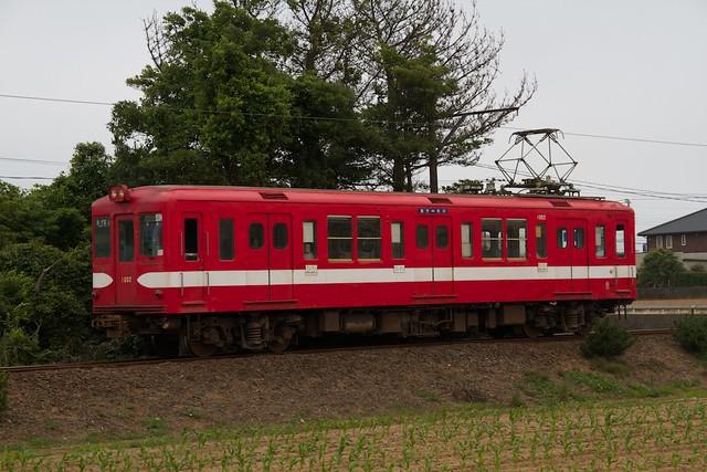 銚子電鉄1000形 丸ノ内線方南町支線カラー