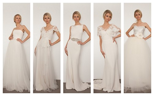 Elegant + Modern + Chic Bridal Gowns by Nina Renee Designs