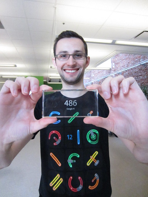 Tristan's Google Glass Number
