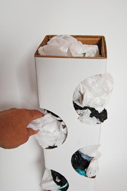 Organizer for plastic bags_003